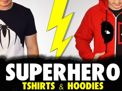 5 Marvellous Superhero T-Shirts and Hoodies – South Africa